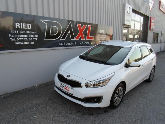 KIA cee'd SW 1,4 CRDi Gold bei Daxl – Autohaus und Zweirad in Oberösterreich in Ihre Fahrzeugfamilie