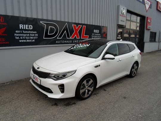 KIA Optima Wagon 1,7 CRDi ISG GT-Line DCT bei BM || DAXL in