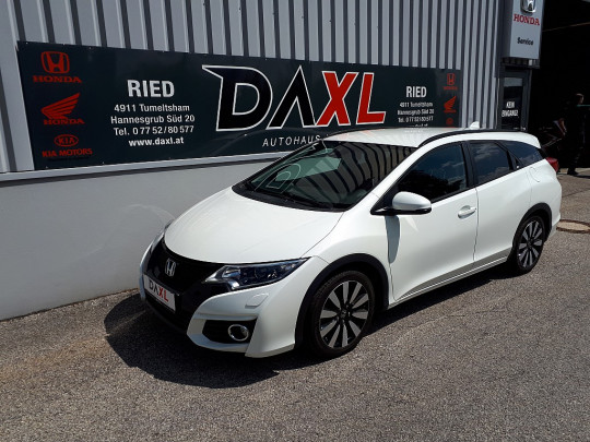 Honda Civic Tourer 1,6i-DTEC Sport Edition bei BM || DAXL in