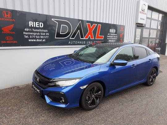 Honda Civic 1,0 VTEC Turbo Executive CVT Aut. + Premium Paket bei BM    DAXL in